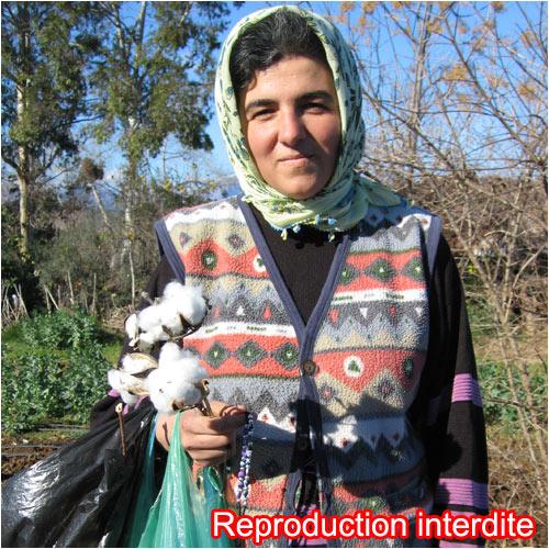 Portrait d'une femme turque