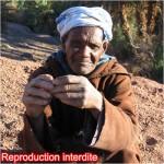 Portrait personne âgée marocaine