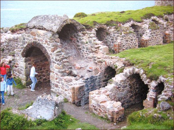anciennes mines d'étain