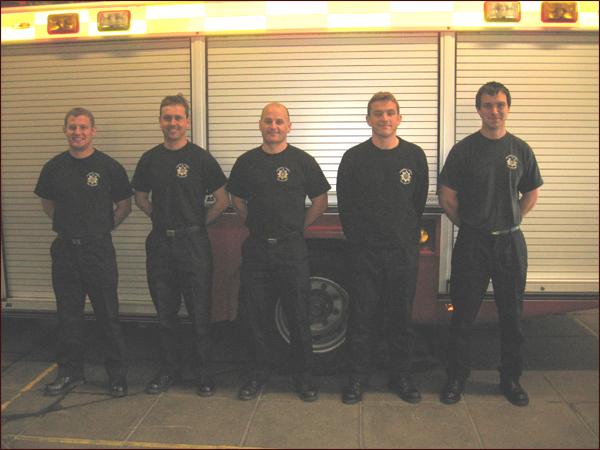 pompiers de Penzance