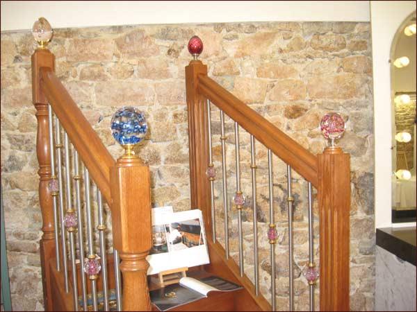 modeles de boules pour escaliers