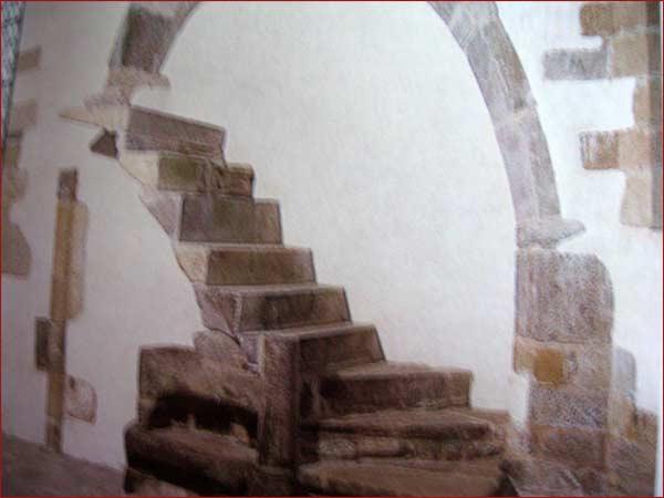 vestige d'escalier