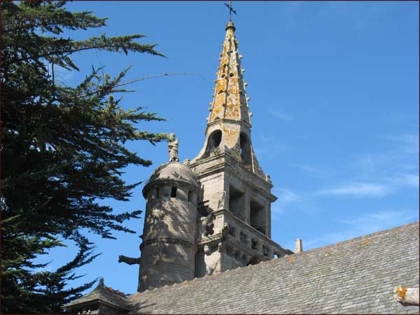 Clocher de la chapelle St Jacques