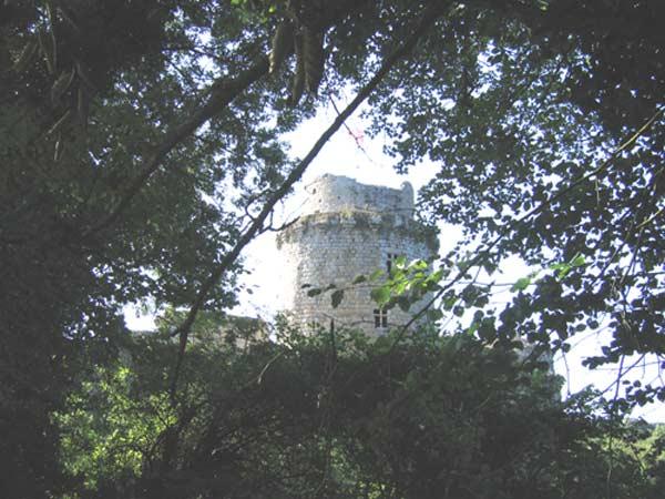 ruines du chateau de Tonquédec