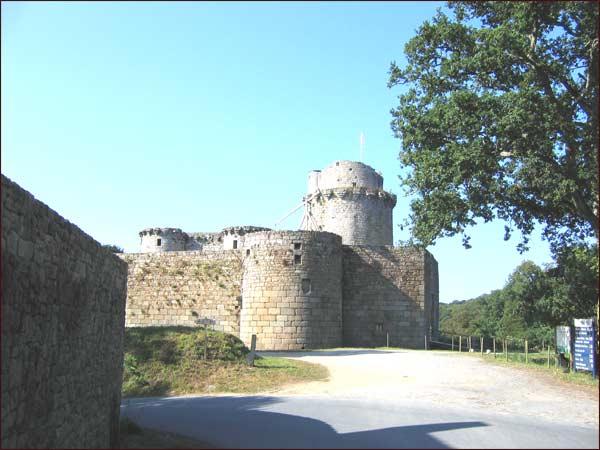 château de Tonquédec ( Côte d'Armor )
