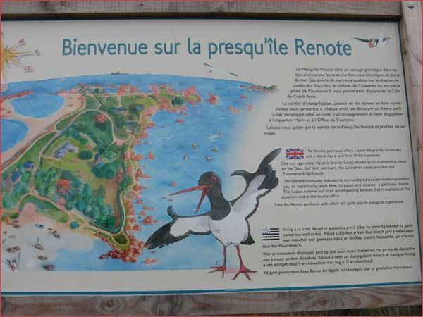 presqu'île Renote