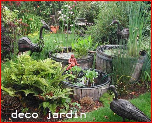 Jardins for Decoration de jardin exterieur