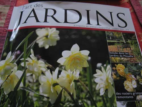 """magazine """"art des jardins """""""