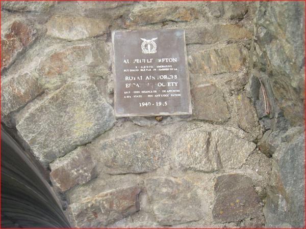 panneau commémoratif