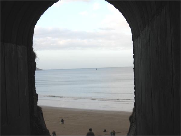 tunnel-acces-plage-bonaparte
