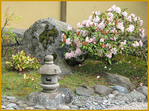Jardin zen for Simple japanese garden plans