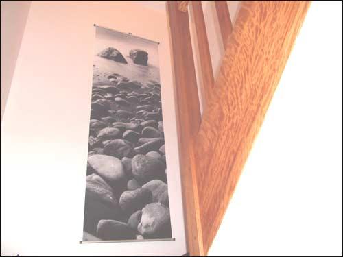 Renovation de la maison for Tableau pour cage escalier