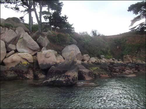 Trebeurden-chaos de rochers
