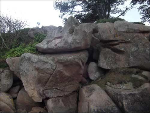 rochers-de-granit