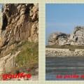 Le gouffre et la petite maison entre les rochers