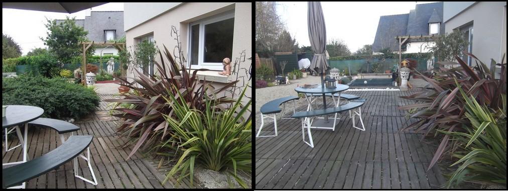 La terrasse restructurée