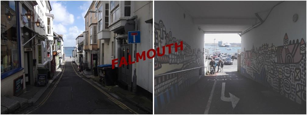 FALMOUTH adorable port , avec ses boutiques , musées , jardins ...