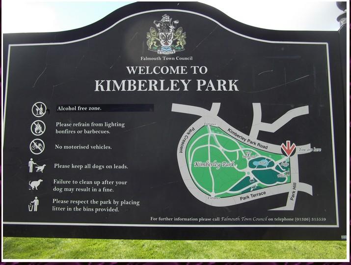 Kimberley park en Cornouaille