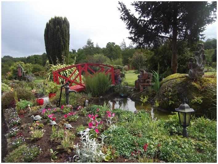 Le merveilleux jardin de nelly bretagne for Pont jardin zen