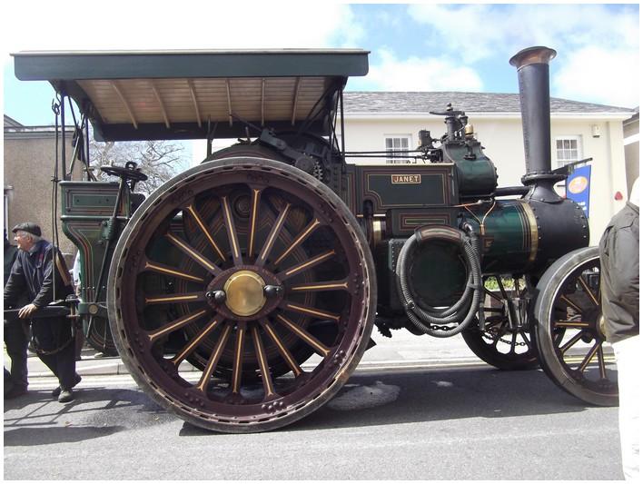 Belle machine a vapeur