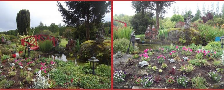 Le merveilleux jardin de Nelly (Bretagne )